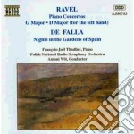 Maurice Ravel - Concerto X Pf, Concerto X La Mano Sinistra cd musicale di Maurice Ravel