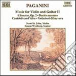 Paganini Niccolo' - Composizioni X Vl E Chit Vol.2: Sonata X Gran Vla E Chit, Duetto Amoroso, 6 Sona cd musicale di Niccolo' Paganini