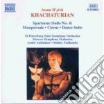 Spartacus (suite n.4), masquerade (suite cd musicale di Aram Khachaturian