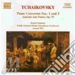 Tchaikovsky - Piano Concertos N.1 Op.23, N.3 Op.75 - Bernd Glemser cd musicale di Antoni Wit