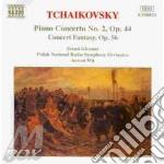 Ciaikovski - Concerto X Pf N. 2 Op.44, Concerto Fantasia Op.56 cd musicale di Antoni Wit