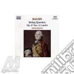 Haydn Franz Joseph - Quartetto N.3, 5 E 7 Op.17 cd musicale di HAYDN