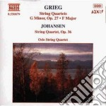 Grieg Edvard - Quartetto X Archi Op.27, Quartetto In Famag. cd musicale di Edvard Grieg