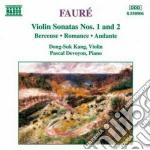 Gabriel Faure' - Sonata X Vl N.1 Op.13, N.2 Op.108, Berceuse Op.16, Romanza Op.28, Andante Op.75 cd musicale di Gabriel Faure'
