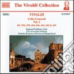 Concerti x vlc (integrale) vol.1: concer cd musicale di Antonio Vivaldi