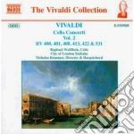 Concerti x vlc (integrale) vol.2: concer cd musicale di Antonio Vivaldi