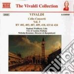 Concerti x vlc (integrale) vol.3: concer cd musicale di Antonio Vivaldi