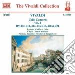 Concerti x vlc (integrale) vol.4: concer cd musicale di Antonio Vivaldi