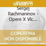 Complete works for.. cd musicale di RACHMANINOV