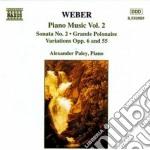 Opere x pf (integrale) vol.2: sonata n.2 cd musicale di Weber carl maria von