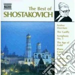 Sciostakovic Dmitri - The Best Of: Sinfonie Nn.1, 9, 10, Festive Ouverture, Concerto X Pf N. 2, Trio N cd musicale di Dmitri Sciostakovic