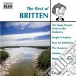 Britten Benjamin - The Best Of cd musicale di Benjamin Britten