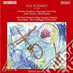 Schmidt Ole - Sinfonia Da Camera, Omaggio A F.listz, Concerto Per Flauto, Quintetto Per Fiati  - Milan Susan  Fl/royal Northern College Chamber Orches cd musicale di Ole Schmidt