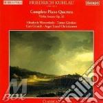 Quartetti con pf (integrale), sonata x v cd musicale di Friedrich Kuhlau