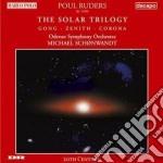 Solar triology cd musicale di Paul Ruders