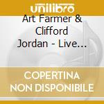 Live at sweet basil - farmer art jordan clifford cd musicale di Art farmer & clifford jordan