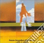 Latte E Miele - Passio Secundum Mattheum cd musicale di LATTE E MIELE