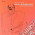 MUSIC FOR LOVING cd musicale di WEBSTER BEN