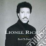Lionel Richie - Back To Front cd musicale di Lionel Richie