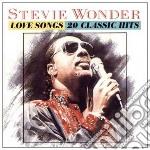 Stevie Wonder - Love Songs cd musicale di Stevie Wonder