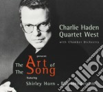 Charlie Haden - The Art Of The Song cd musicale di Charlie Haden