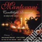 CANDLELIGHT ROMANCE cd musicale di MANTOVANI
