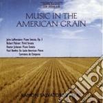 La Montaine John - Music In The American Grain - Sonata Per Pianoforte Op.3 cd musicale di La montaine john