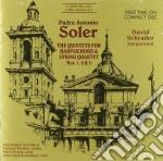 Soler Antonio - Quintetti Per Clavicembalo E Archi Nn.1, 2 E 3  - Chicago Baroque Ensemble cd musicale di Antonio Soler