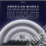 Barber Samuel - American Works For Organ And Orchestra: Toccata Festiva Op.36 cd musicale di Samuel Barber