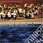 Opere Orchestrali Americane  - Kalmar Carlos Dir  /grant Park Orchestra cd musicale di Miscellanee