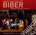 Biber Heinrich Ignaz Franz Von - Mensa Sonora - Battalia 'sonata Per Marche'  - Clarke Garry Dir  /baroque Band cd musicale di Biber heinrich igna