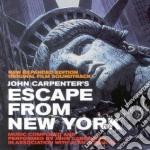 ESCAPE FROM NEW YORK cd musicale di John Carpenter