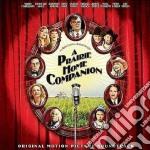 A PRAIRIE HOME COMPANION cd musicale di ARTISTI VARI