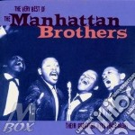Manhattan Brothers - The Very Best Of 48-59 cd musicale di The manhattan brothers