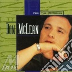 Don Mclean - For The Memories cd musicale di Don Mclean