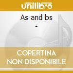 As and bs - cd musicale di Acklin Barbara