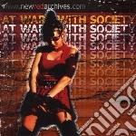 At war with society cd musicale di Artisti Vari