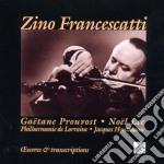 Zino Francescatti - Opere E Trascrizioni cd musicale