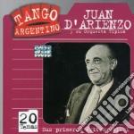 Sus primeros exitos cd musicale di Juan D'arienzo
