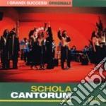 I GRANDI SUCCESSI ORIGINALI(2CDX1) cd musicale di Cantorum Dchola