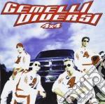 Gemelli Diversi - 4x4 cd musicale di GEMELLI DIVERSI