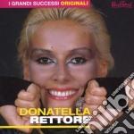 I GRANDI SUCCESSI ORIGINALI cd musicale di Donatella Rettore