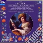 Ode for st cecilia's day cd musicale di William Boyce
