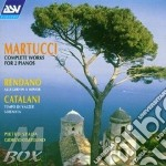 Works for due pianos/fantasia... cd musicale di Martucci/rendano/cata