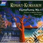 Symphony n. 3 cd musicale di Nicol Rimsky-korsakov