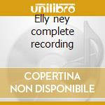 Elly ney complete recording cd musicale di Beethoven