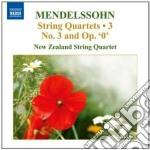 Quartetti per archi (integrale), vol.3: cd musicale di Felix Mendelssohn