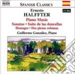 Opere per pianoforte (integrale) cd musicale di Ernesto Halffter