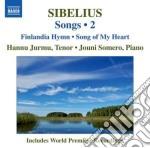 Sibelius Jean - Songs, Vol.2 cd musicale di Jean Sibelius