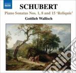 Schubert Franz - Le Sonate Per Pianoforte Incomplete: N.1n.15, Frammenti D655, D994 cd musicale di Franz Schubert